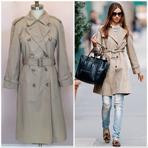 Vintage London Fog Double Breasted Trench Coat